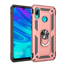 customizable cell phone case for huawei P smart 2019 shell armor ring case cover