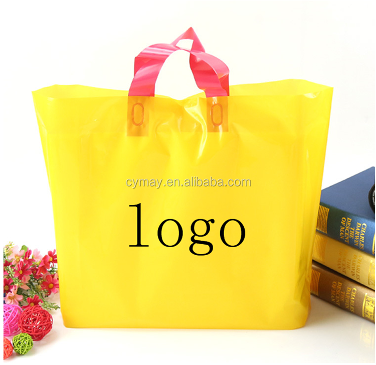 Top quality custom logo print plastic bag making raw material