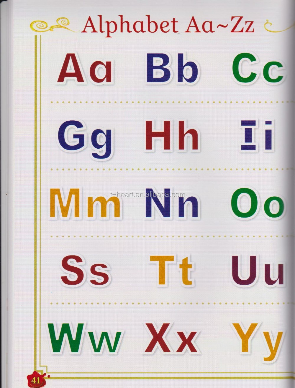 Wonderful Sound English book for children learning ABC