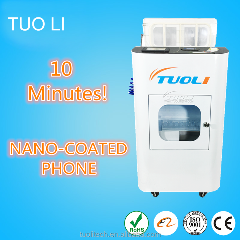 Mobile Phone Waterproof Nano Coating Machine Nanotechnology Waterproof