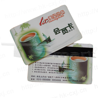 standard size 85.5*54mm plastic business cards/CR80 pvc membership card /custom plastic id card overlay hologram
