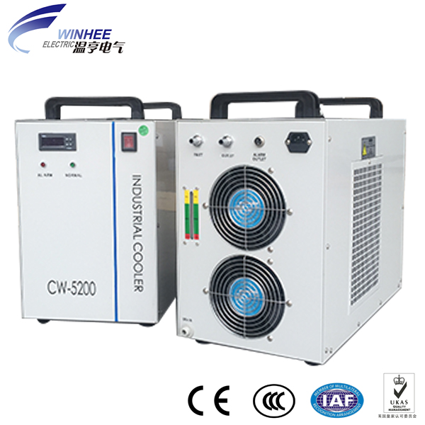 Small water aquarium chiller vegetable chiller laser cooling capacity small chiller