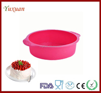 Silicone Round Baking Mold Bread/Cake Mold Mould Tray Bakeware Dessert Pan
