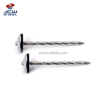 Umbrella Head Roofing Nails with Rubber Washer for Fastening Metal Roofing