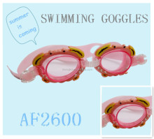2015 Fashion silicone Swimming Goggles with anti-fog wholesale