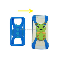 wholesale lovely design smart universal silicone phone case for 3''-7''