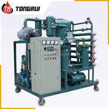 high efficiency vacuum transformer oil purification system