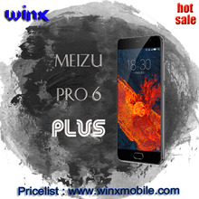 5.7inch Original meizu pro 6 plus cellphones 4GB RAM 64GB ROM 4 sim card mobile phone
