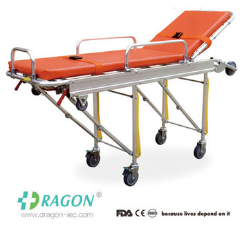 DW-AL004 New Style Aluminum Alloy Ambulance Hospital Stretcher
