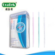 Plastic Special and reusable Brush Toothpick