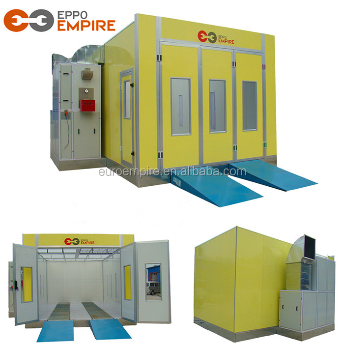 2018 Hot sale new CE approved high quality spray booth furniture/auto painting oven