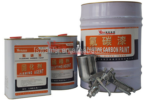 Eco-friendly material fluorocarbon coating with good quality