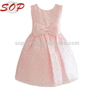 Child boutique clothing party wear frocks vintage flower girl dresses