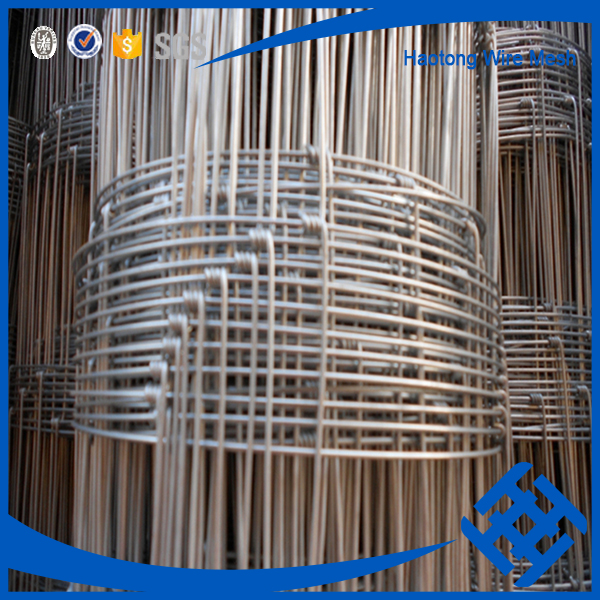 Hot sale Hot Dipped galvanized Knot Field Fence Mesh for animal (Professional Factory)