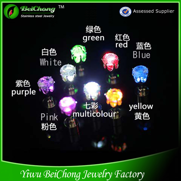 Offer New and Unique Glow in the Dark Earrings for Boys and Girls Led Earrings