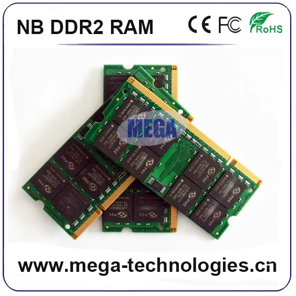 2GB PC2 5300 667MHZ DDR2 2RX8 SODIMM 200PIN