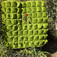 Top quality felt vertical garden living wall planter bag with a good plasticity