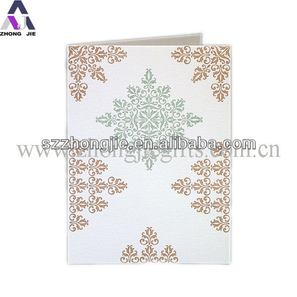 cheap price paper greeting card for party decoration