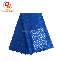 Hot sale professional embellished religious fabric net lace