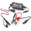 1.2A Car Battery Float Charger and Maintainer 6V/12V for Lead acid Batteries