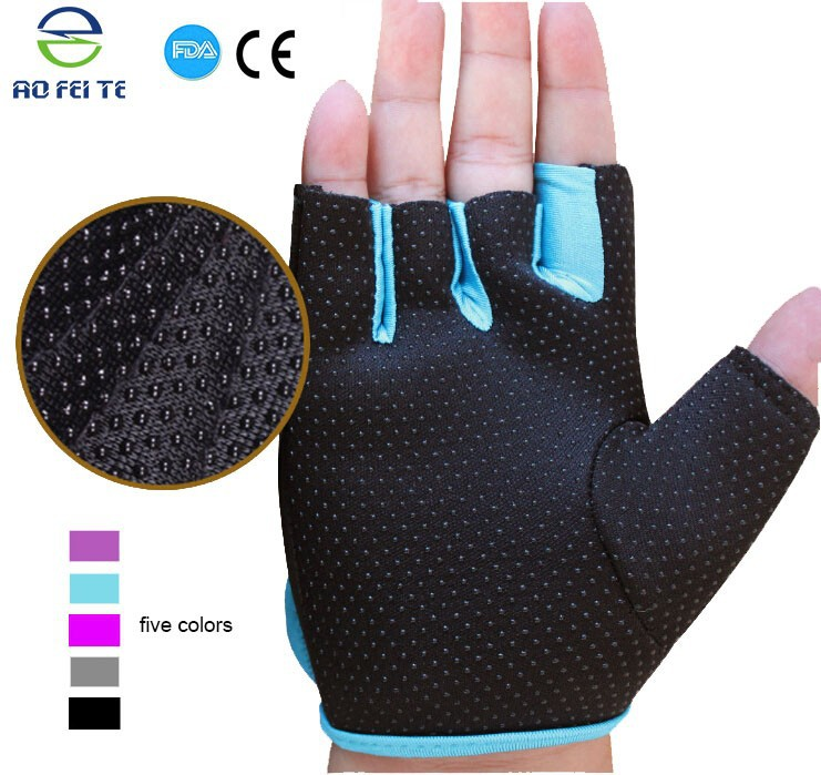 Half-finger cycling bicycle gloves for safety best biker silicon gel