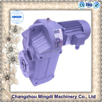 reverse gear box for motorcycle KAF/K Series Helical-bevel Gearbox Transmission Parts / Parallel Shaft Reducer Gear box