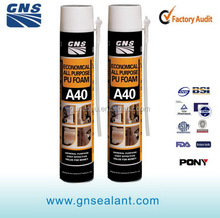 All purpose open cell spray insulation PU Foam for sealing