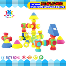 Plastic magnetic building blocks toys set cute miraculous blocks building toy