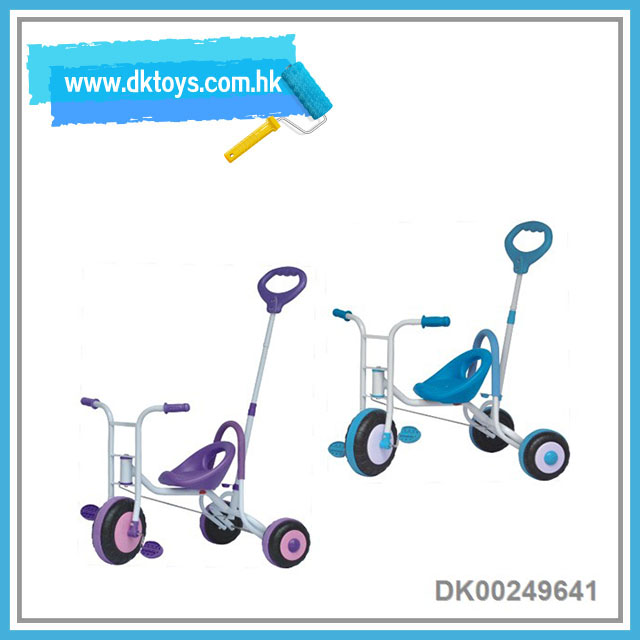 Children Tricycle Ride On Car With Shading 3 Wheels Bike Kids Toy With EN71 ASTM Certificate