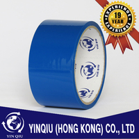 Acrylic Water Base BOPP Color Adhesive Packing Tape in Blue