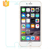 2016 new premium mobile phone spare parts/accessories factory in china for iphone 6 tempered glass