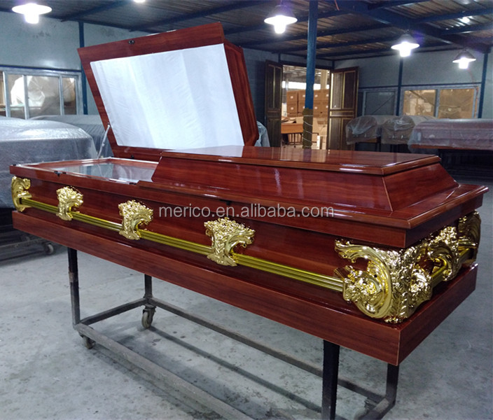 62# Africa Customzied Cheap Flat Casket and Coffins For Sale
