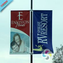 High Quality Advertising Outdoor Street Pole Banners For Big Events