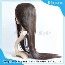 Natural color and hairline 130density cheap price 100 milky way human hair wigs for black woman