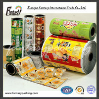 plastic laminated film for food packaging