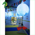 PVC Charming Decoration Lighting Tripod Inflatable Moon Stand Balloon