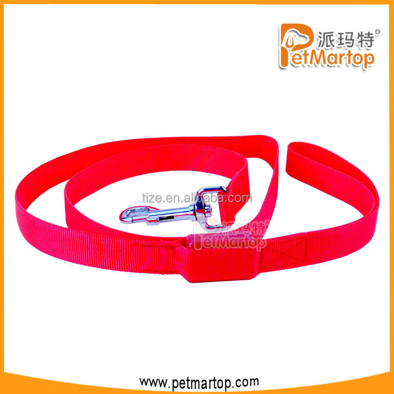 Dog show leads for pet parts soft handle dog leash TZ-PET2112