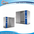Large steam sterilizer with sliding door