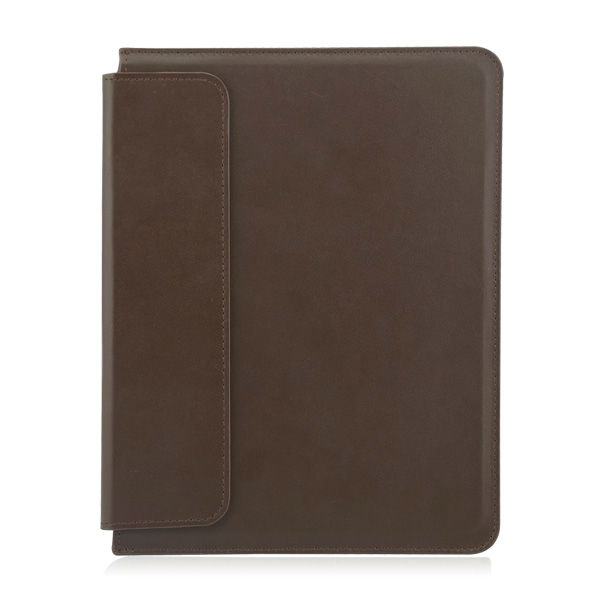 Leather portfolio case for ipad 2