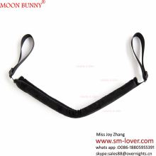 Hot Sale Nylon&Plush Open Leg Sex Combination Belt Fetish Bondage Restraints Adults Sex Toys For Couple ,Strap Belt Sex Products