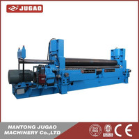 Hydraulic bend roller W11S model machine with pre bending capacity
