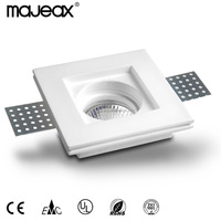 New arrival Contemporary Unique Gypsum Plaster GU10 recess downlight