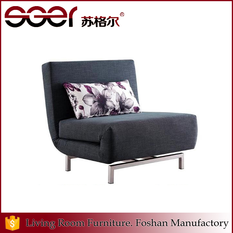 Most popular folding function furniture fabric European style sofa