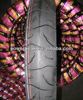 coloured motorcycle tyre 300-18 275-18 90/100-16