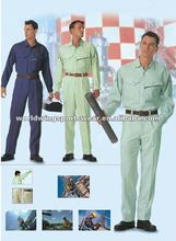 Technician polyester cotton navy and blue work uniform