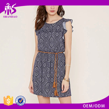 2016 Guangdong Shandao Factory Summer Hot Sale Casual Sleeveless Elasticated Waist Fashion Sexy Pictures Of Girls Without Dress