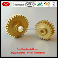 Brass precision worm gear, small worm gear used for printer