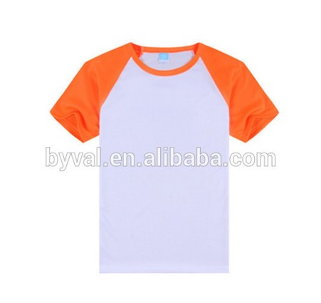 wholesale men <strong>100</strong>% cotton raglan t shirt custom high quality round neck raglan sleeve plain dri fit breathable t shirts