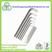 carbon steel allen wrench , steel L type allen key