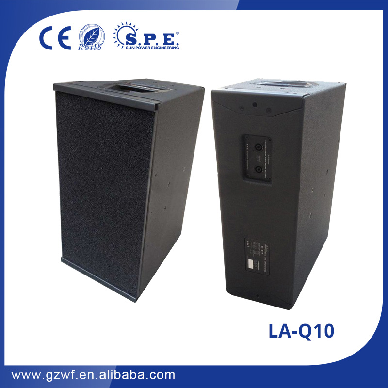 <strong>Q1</strong> line array spe audio LA-Q10 passive projetos line array gratis
